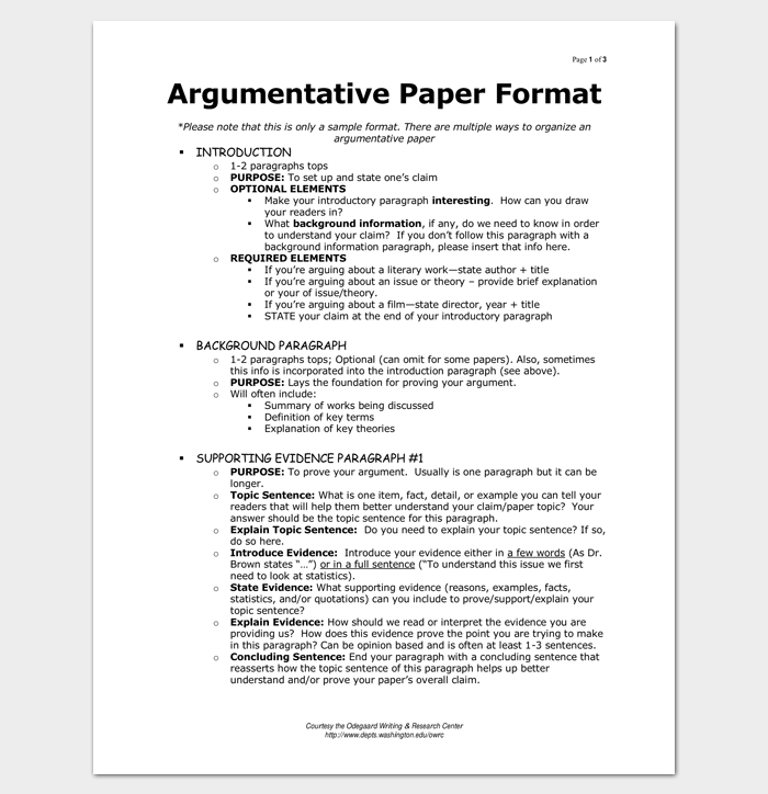 sample argumentative essay outline for pdf - Example Of Argumentative Essays