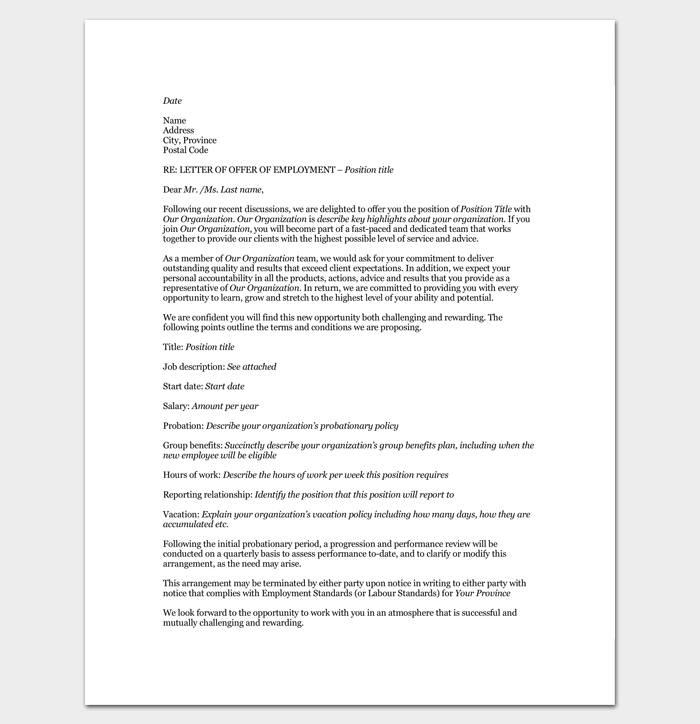 Job Appointment Letter to Trainee Doc