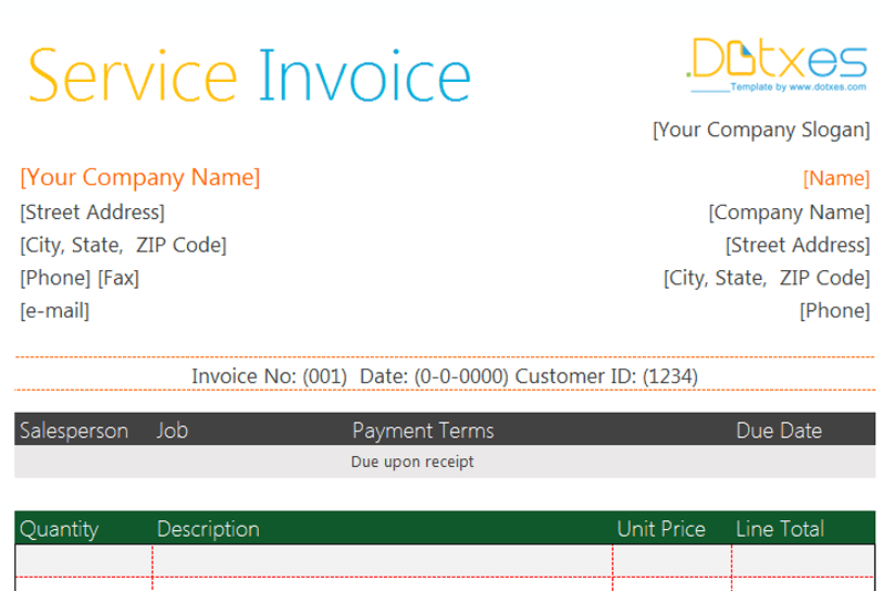 Basic-Service-invoice-(Excel,-Featured)