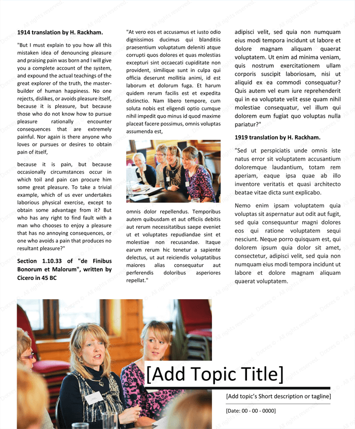 Magazine Template for Microsoft® Word - Page 04