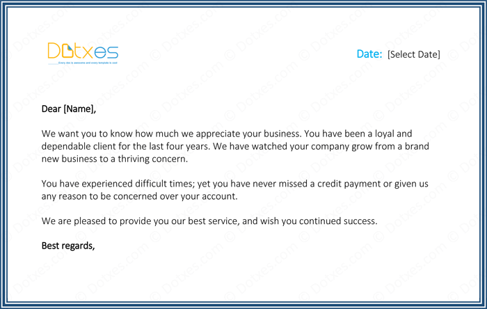 Customer thank you letter 5 best samples and templates customer appreciation letter expocarfo