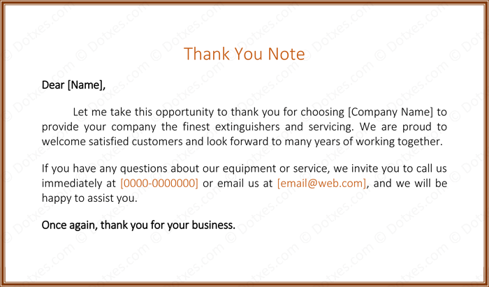 Customer thank you letter 5 best samples and templates customer thank you note thecheapjerseys Images