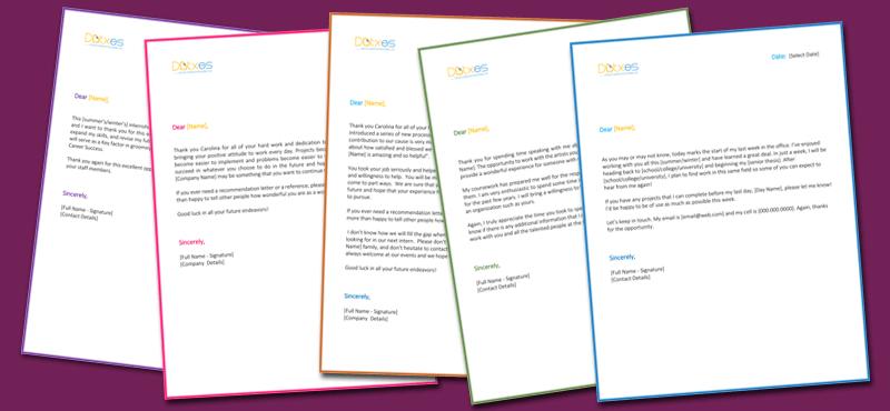 Internship Thank You Letter 5 Letters You Should Consider Sending