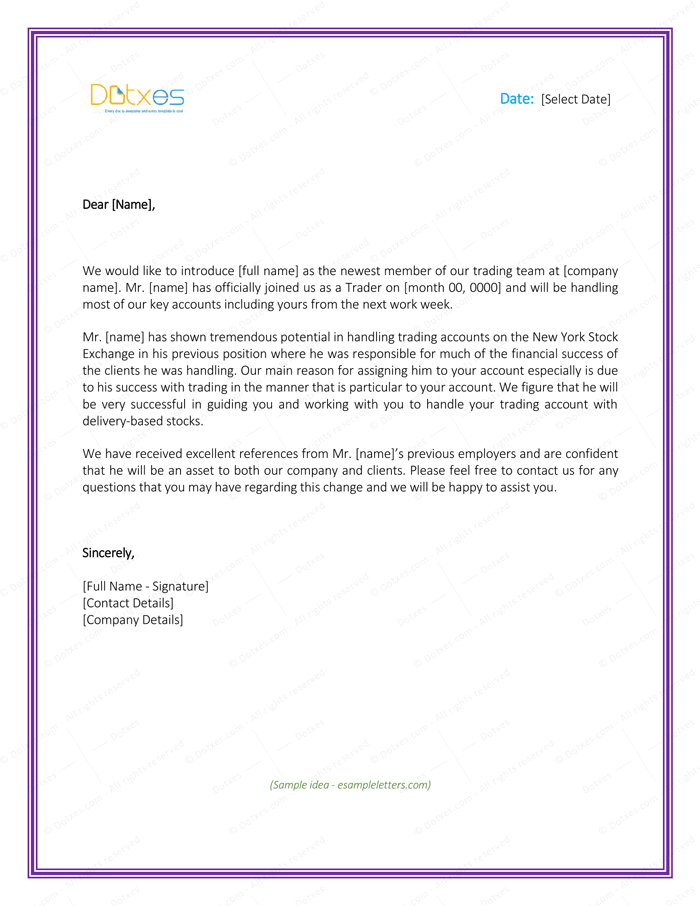 Sle letter introducing myself to clients 28 images cover letter sle letter introducing myself to clients best introduction letter formats you should use to spiritdancerdesigns Gallery