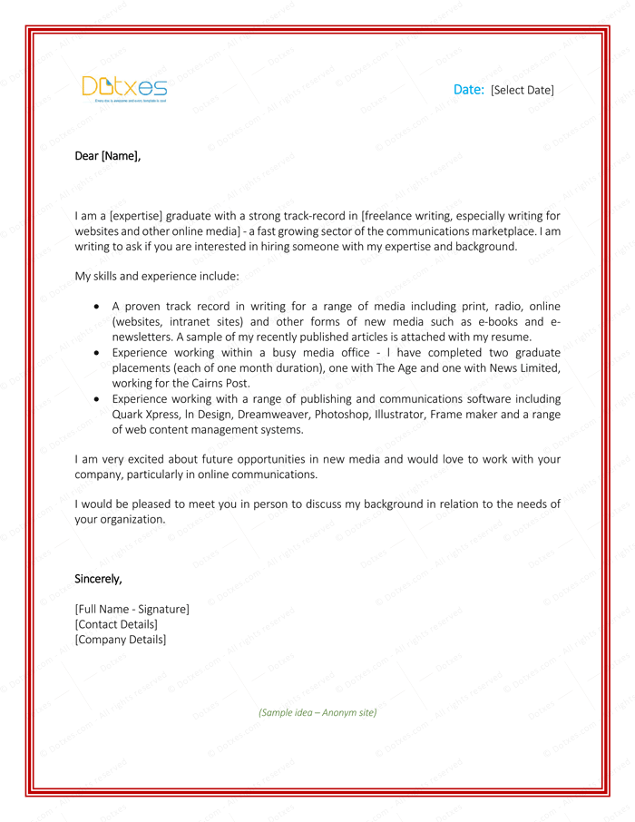 Letter of Introduction for Employment