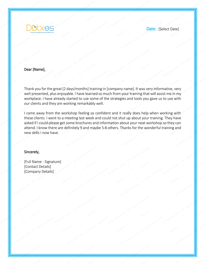 Thank you letter to boss 8 plus best samples and templates thanks letter to boss for giving training opportunity yelopaper Gallery
