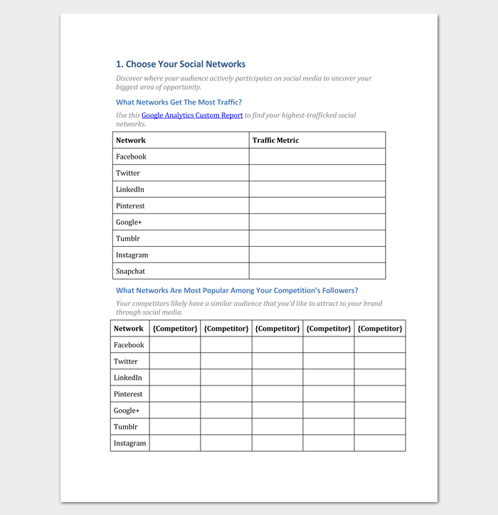 Writing a marketing plan pdf