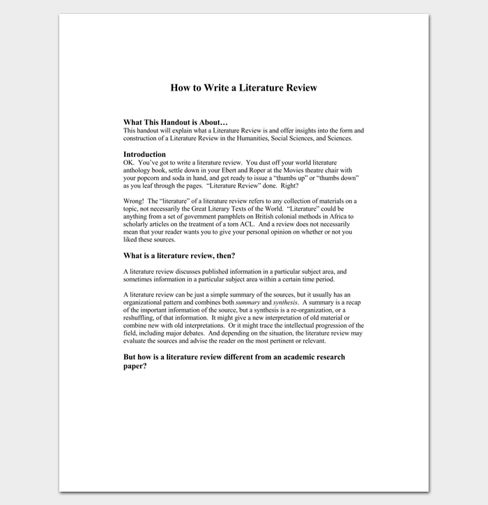 how to write literature review in research paper Research paper strategies how to write a research paper in literature geoff baker be using a larger research library, it may help to write down the floor.