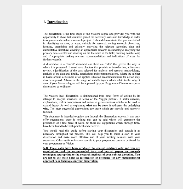 writing an introduction for a masters dissertation What is the difference between a a thesis is the final project for the masters degree and a dissertation leads tips for writing a thesis or dissertation.