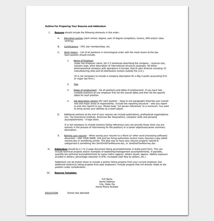 Preparing A Resume For A Federal Job