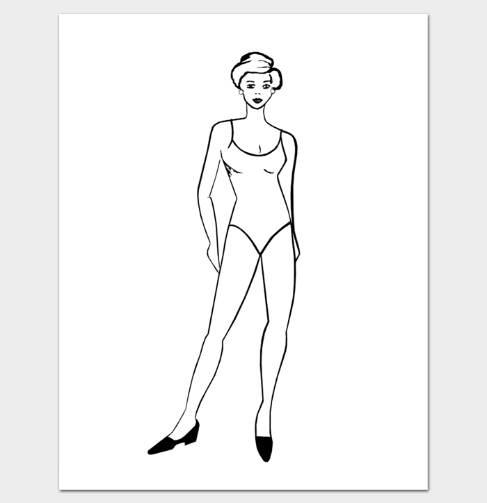 Body Outline Template - 27+ Printable PDF Formats - Dotxes
