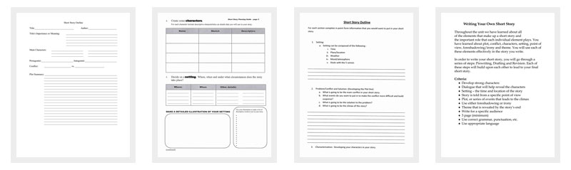 Outline Template   Samples Examples And Formats  Dotxes