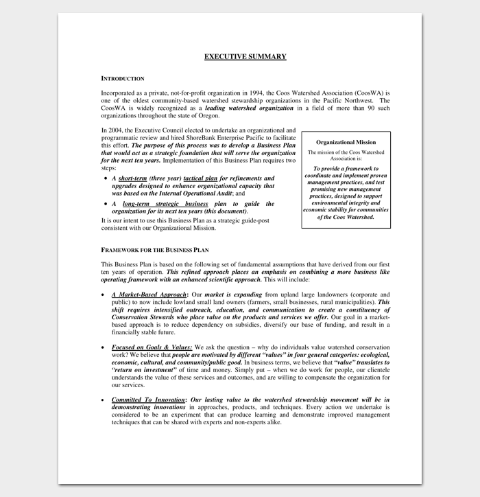 Business outline template 20 free samples formats examples strategic business plan outline pdf accmission Images