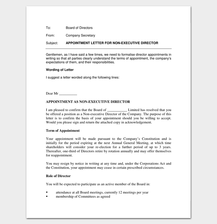 Company appointment letter 9 docs for word and pdf format private company appointment letter pdf format 1 spiritdancerdesigns Gallery