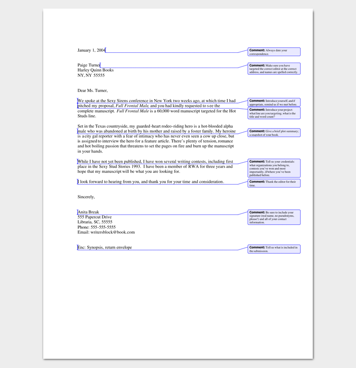 Query letter template 7 formats samples examples query reply letter 1 thecheapjerseys Images