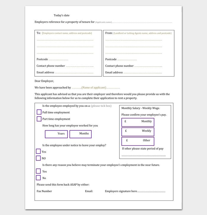 tenant letter template - 9  docs  samples  u0026 examples