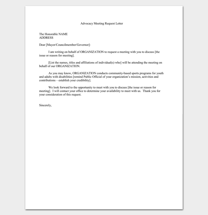 Meeting appointment letter 9 templates for word pdf format advocacy meeting appointment letter 1 altavistaventures Image collections