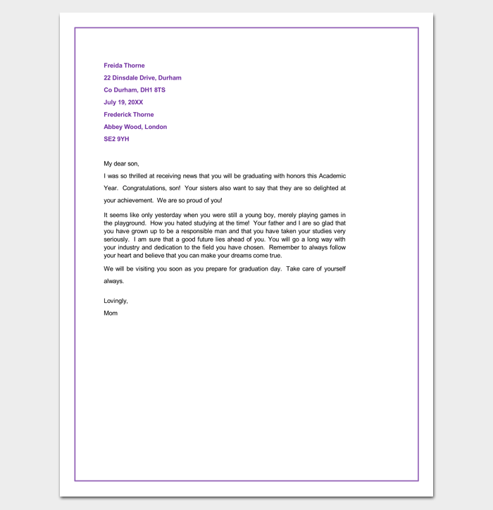 Congratulation Letter Template 18 Samples For Word Pdf