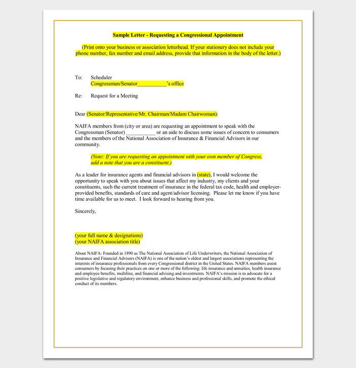 Meeting appointment letter 9 templates for word pdf format customer meeting request letter spiritdancerdesigns Gallery