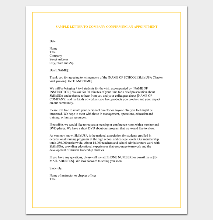Sample appointment request letter 14 examples in wordpdf letter to company requesting an appointment spiritdancerdesigns Image collections