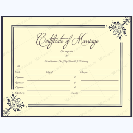 Marriage Certificate 09 BLK 1 450×450
