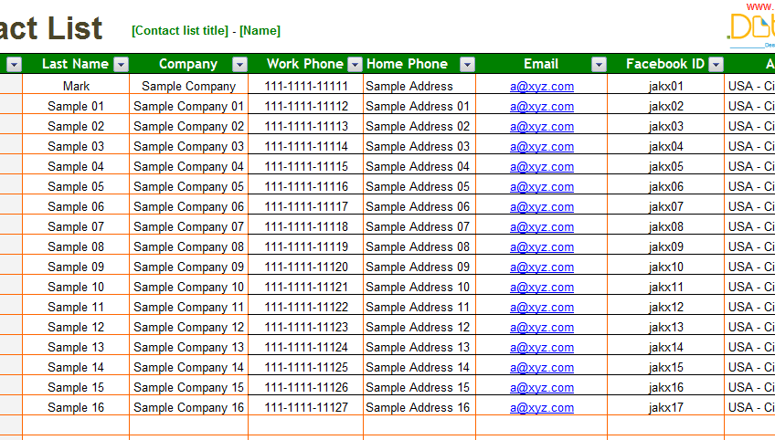 Contact-List-Template-(Excel)