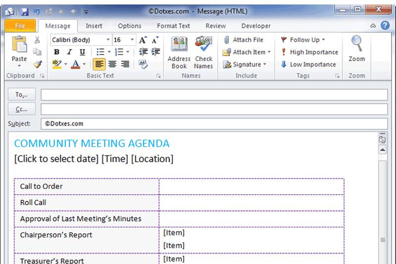 Basic-community-meeting-agenda-template-(For-Email,-Featured-Image)