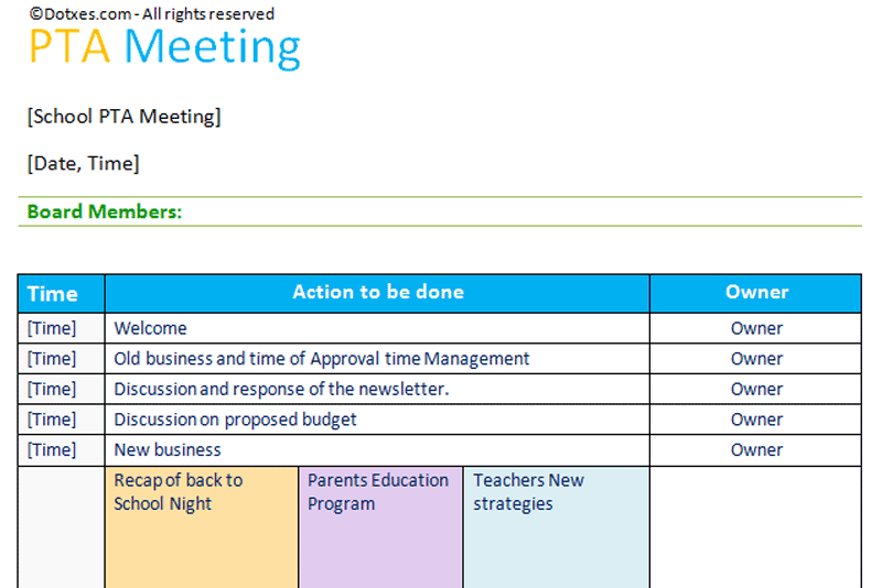 PTA-Agenda-meeting-template-with-short-table-layout-(Featured-Image)
