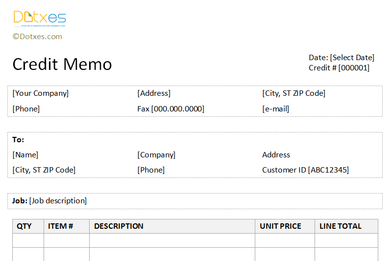 Credit-memo-template-(-Basic-and-neat-table-format)-featured-image