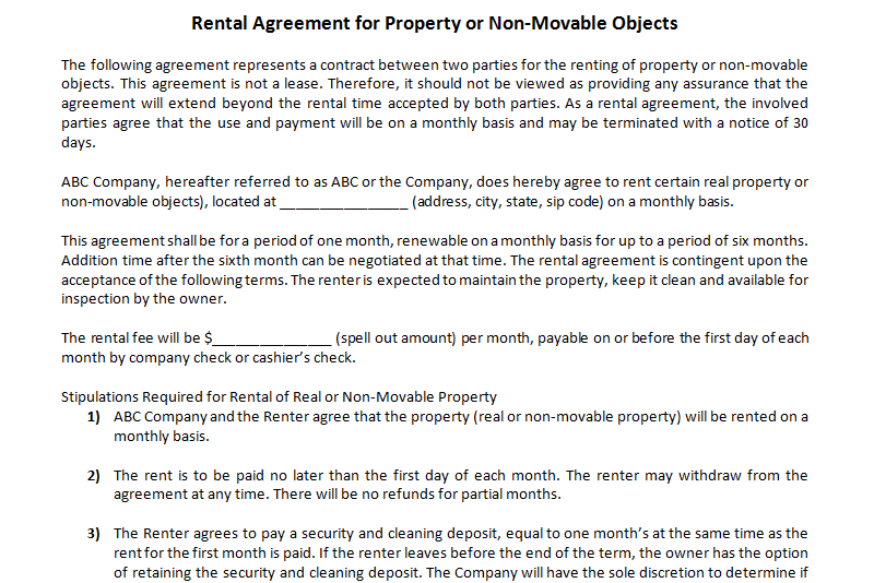 Rental-Agreement-Template-for-Property-or-Non-Movable-Objects-(Featured-Image)