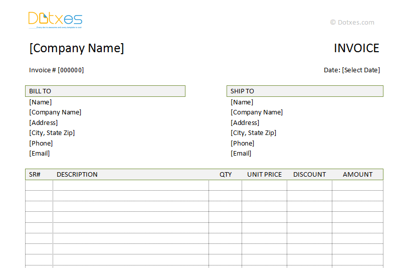 Free invoice templates for word, excel, open office | invoiceberry.