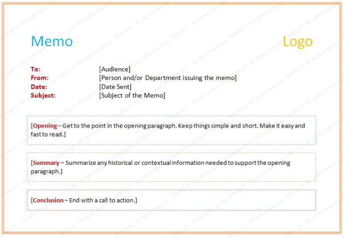 Sample Casual Memo Letter   Example Of Memorandum Letter Dotxes