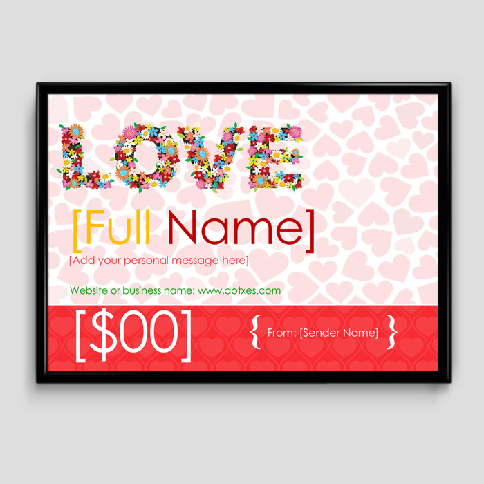 Gift Certificate Template 6 Fillable Certificate Formats For Word