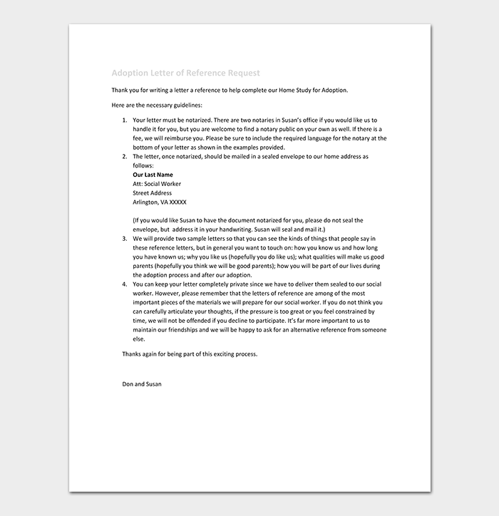 requesting a letter of recommendation template - reference letter template 50 for word pdf format