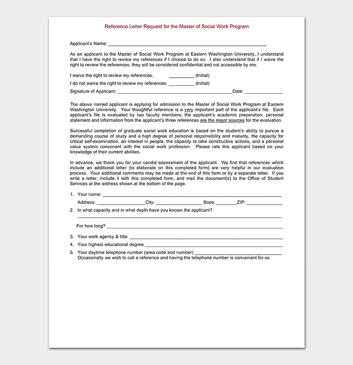 reference letter template 50 for word pdf format
